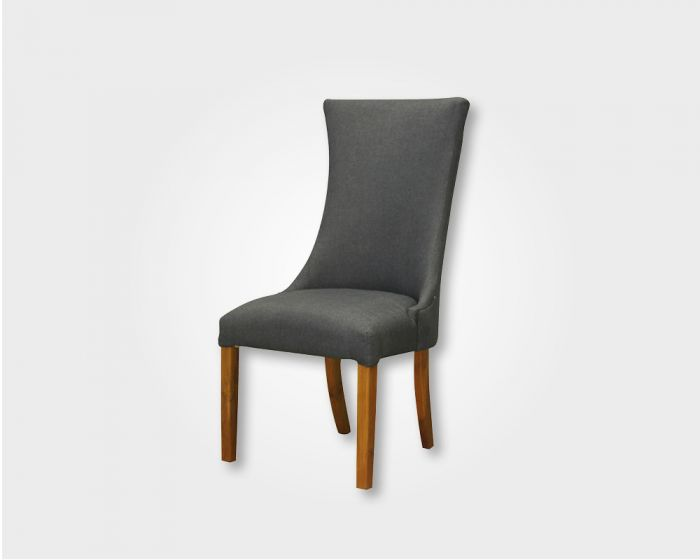 Butterfly Dining Chair-Blue Fabric