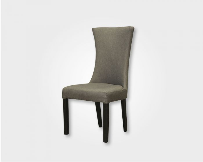 Butterfly Dining Chair-Grey Fabric