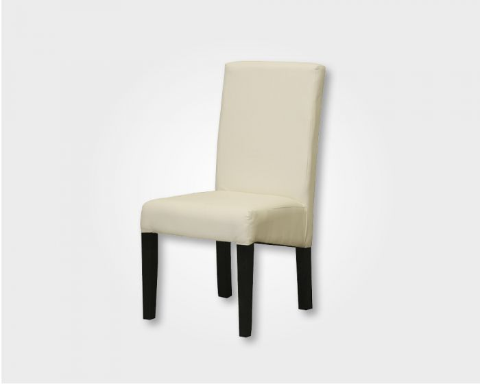 Bistro Dining Chair-White PU