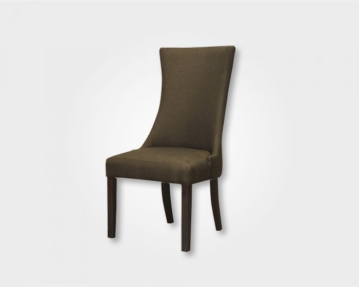 Butterfly Dining Chair-Brown Fabric