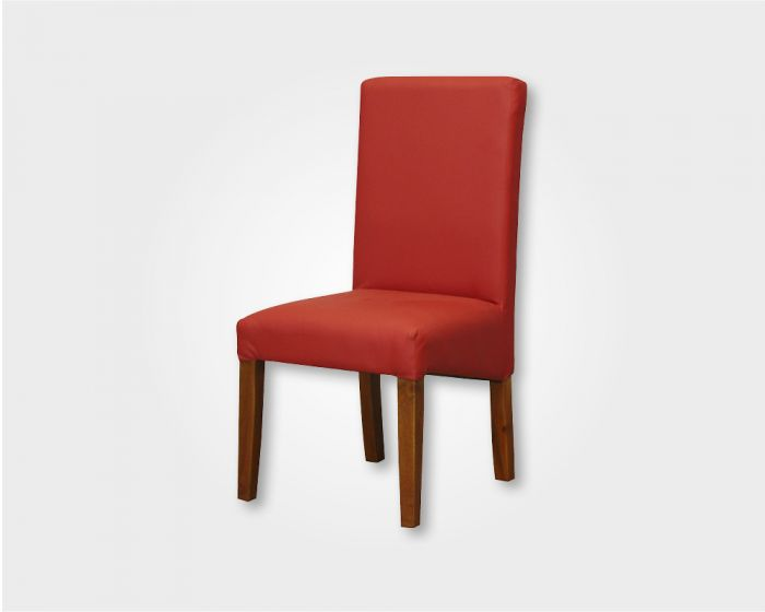 Bistro Dining Chair in UP Red -Fabric