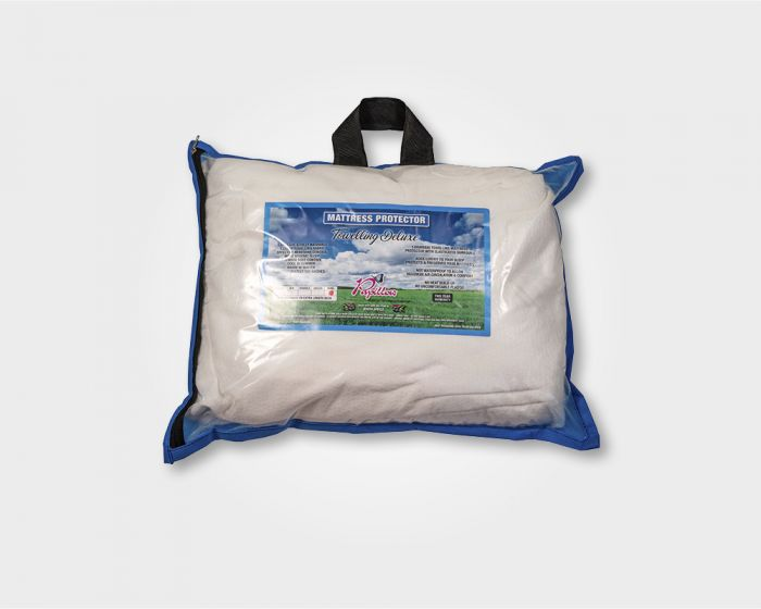 Towelling Deluxe Mattress Protector Double