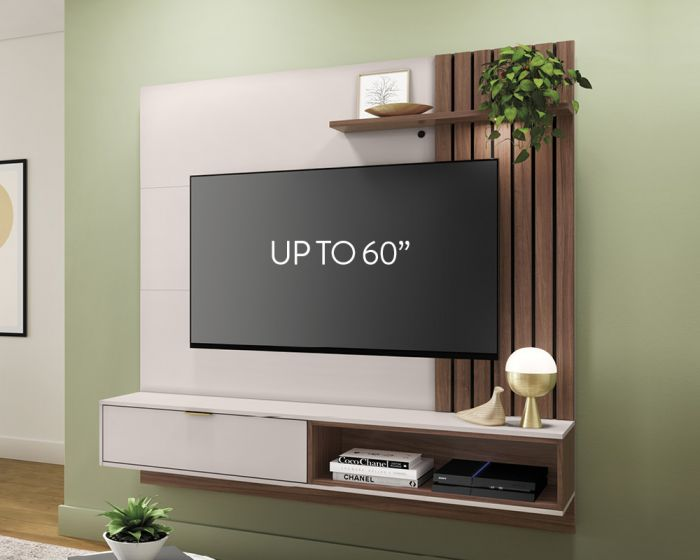 Tocan Wall Unit-Off White Walnut