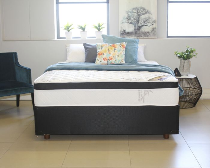 BedMart Bamboo Spinal Classic Single Standard Length Bed Set