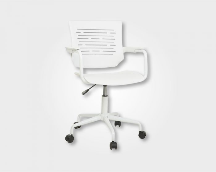 Chess Operator Office Chair-White