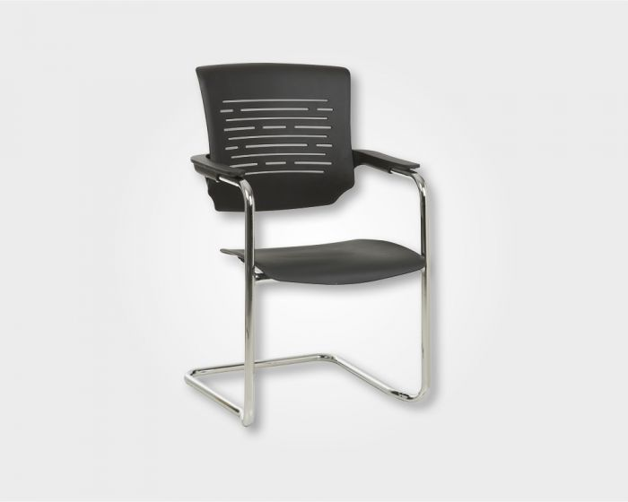 Chess Visitors Office Chair-Black