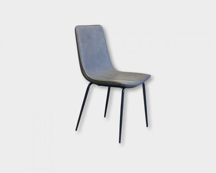 Michelle Dining Chair-Grey PU