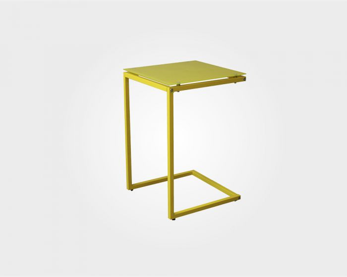 Windsor Occasional Table-Yellow