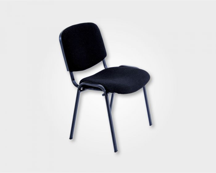Joi Stacker Visitors Office Chair-Black