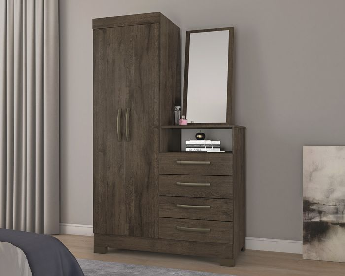Anna Chest of Drawers - Coffee